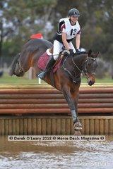 "Winner of the Grade 1, Georgia Tivendale riding ""Star Allure"" representing Pakenham Pony Club"