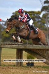 "Third Place in the Grade 1 went to J'aime Mallon riding ""Irish Gem"" representing Macedon Pony Club"