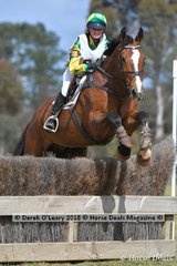 "Winner of the Grade 2 Section 3 Bianca Bellingham representing Moyhu Pony Club riding ""CP Pontiac"""