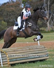 "Ileena Neilson representing Balnarring Pony Club riding ""Know My Name"" in the Grade 3 Section 1"
