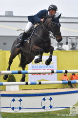 In a very fast jump off of the Group C event, Yarra Valley horse dentist, James Harvey and Castlederg  posted the quickest, to win the class.