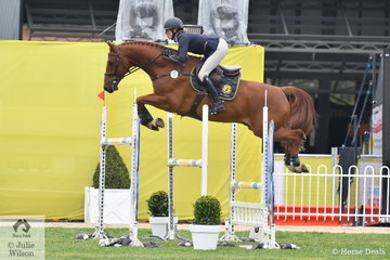 Katie Laurie jumped a good clear round riding Cero Caruso for fourth place in the Group B One Round contest.