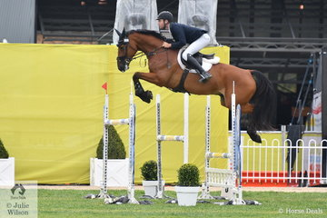 Tom McDermott has not been at Melbourne Royal for a few years but he is certainly making his presence felt on his return. Tom rode Alpha Activity for four faults in the Group B One Round contest. However, Tom was still fast enough to win the class.