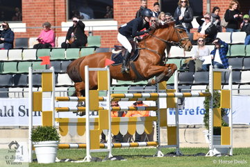 Georgia Plain rode SWS Rejoicing to seventh place in the Young Rider event.