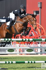 Talented Madeline Sinderberry rode JT Valentina to third place in the Young Rider contest.