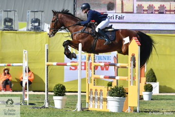 Tori Fair  rode Ramirus in the Young Rider contest.