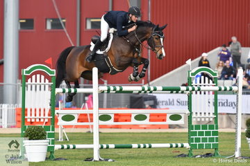 Tom McDermott produced two good clear rounds riding Elegance De La Charmille to win the Prince of Wales Cup for the third time. Tom also placed third riding Diamont.