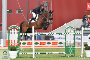Last year's  Prince of Wales Cup winner Stephen Hill and Yalambi's Bellini Star, had to settle for seventh place this year, with four faults in the first round.