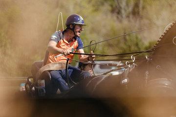 FEI World Equestrian Games... Tryon USA Koos De Ronde NED.Photo FEI/Christophe Tani..re