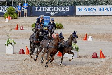 FEI World Equestrian Games... Tryon USA Koos De Ronde; Netherlands.Photo FEI/Liz Gregg