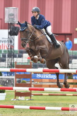 Angela Dobbin rode another of Wendy Keddell's talented New Zealand bred horses, 'Miranda MVNZ' to take fifth place in the Group C jump off class today.