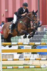 2017 Melbourne Royal Mini Prix winners, Rhys Stones and ,'Tulara Colmar' came close to making it back to back wins, but the talented young professional rider from NSW had to settle for second place today.