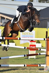 Tom McDermott rode his Diamont de Semilly mare, 'Diamont' to post four and four to take seventh place in the Melbourne Royal World Cup Qualifier.