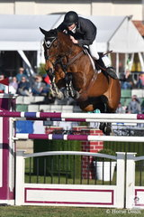 Aaron Hadlow won the recent Gatton World Cup Qualifier riding his, 'Vahlinvader' Valhalla/Brilliant Invader and today this wonderful combination jumped four and clear to take second place in the Melbourne Royal World Cup Qualifier.