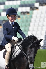 Matilda James rode , 'Glen Ardon Specialfx' to take sixth place in the always strong Shetland Turnout class this morning. This class is a real piece of Melbourne Royal history and you will not see a class of this quality anywhere else in the world.