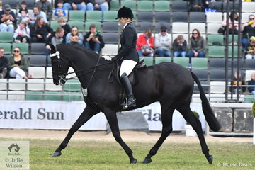 Elia Lom rode the Kristinvale Stables nomination, 'Shintilla' to make Pope Cup Top Ten.