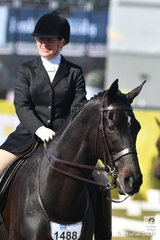 Elia Lom rode her, 'Shintilla' to take sixth place in the Esquire Equestrienne Turnout after riding in the Garryowen earlier in the day.