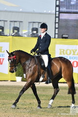 James Hazelwood took second place in the class for Gentleman Rider 30 Years and Over.