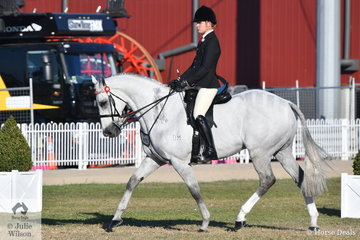 Riley Shannon-Winzer took second place in the class for Gentleman Rider 18-30 Years.