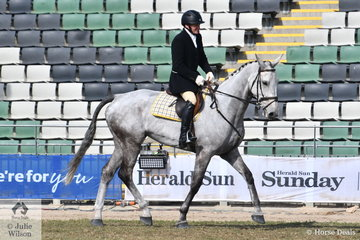 Aaron Mawhinney representing the Oaklands Hunt Club took third place in the class for Heavyweight Hunter Shown In Saddle.