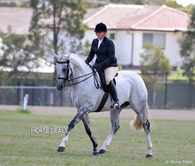 "Jess Doyle and ""Daisy Patch Chadwick"", they won Supreme Champion Show Hunter."