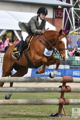 Abbey -Lee Ryan representing the Tocumwal Hunt Club rode her, 'Jestames Kaydence' to fourth place in the SA Greaves Memorial Hunter's Plate.