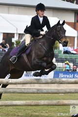 Young Rider, Alexandra Ferguson is a Whip for the Murray Valley Hunt Club and took second place in the SA Greaves Memorial Hunter's Plate riding , 'Downton Abbey'