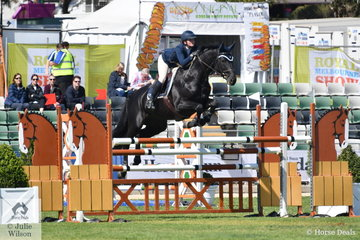 Brooke Langbecker from Queensland rode her newly imported stallion, Black Jack to post two clear rounds for sixth place in the Group C event.
