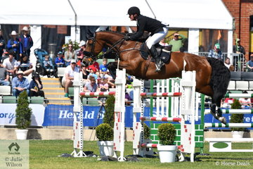 Steven Hill rode his well performed Yalambi's Bellini Star to jump a double clear for third place in the John Kelly Memorial Group One.