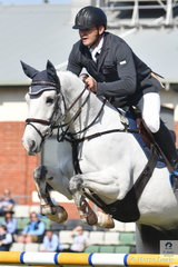 Stuart Jenkins jumped two good clear rounds aboard Blackall Park Penny Lane for fourth place, in the Colin Kelly Memorial Group B contest.