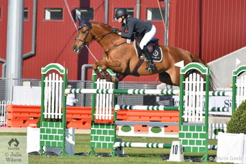 Katie Laurie rode Carissa McCall's, Esteban MVNZ to produce a nice clear round in the Colin Kelly Memorial Group B contest.