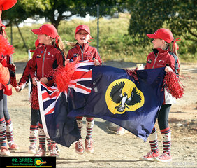Team spirit is strong for South Australia with some of their young team members getting excited for the week of competition.