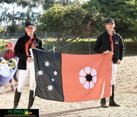 The small but mighty team from the Northern Territory made up of Amy Fisher and Dominic Robertson are ready to represent their Territory at the 2018 Interschool Nationals held at Werribee, Victoria.