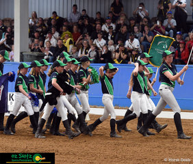 Walking in to the 2018 Marcus Oldham Interschool Nationals opening ceremony with great pride was team Tasmania.