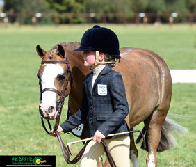 Competing in their home state was Grace Baines and Charmosa Jet in the Primary Working Hunter on day one of competition.