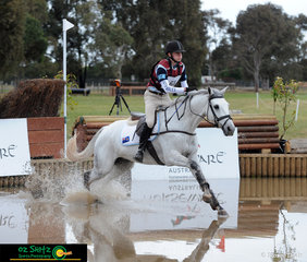 Making a splash in the CNC One Star was Oliver Barrett and Ballyhoo at the 2018 Marcus Oldham Interschool National Championships.