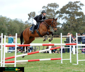 Collude With Me and Charlotte Flood were one of the combinations to represent Victoria in the CNC One Star at the 2018 Interschool National Championships.