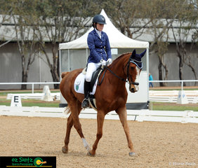 After travelling from Tasmania Year 12 student Alice Paterson and her 10 year old Warmblood Mare DPH Dynamic Demand competed in the CT 60 Secondary to take out 6th place overall