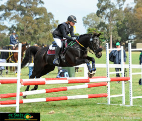 Summer Jacob and Daybreak Prince represented Queensland in the Oz Shotz Primary 80cm show jumping at the 2018 Marcus Oldham Interschool National Championships.