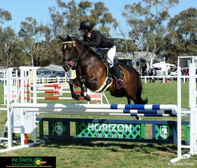 Chloe Gee and Torridon Limited Edition looked like the perfect team in the Secondary 1m show jumping track on the final day of Interschool Nationals.