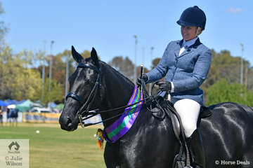 """What a busy and successful day and a mission accomplished. Kathleen Mullan claimed the Hero Qualifier with the outstanding, 'Savesomtimetodream' aka, """"Buck""""."""