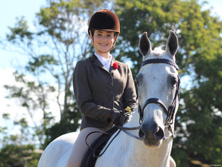 Reserve Champion Hunter Hack exhibited by  Lucy Sidney