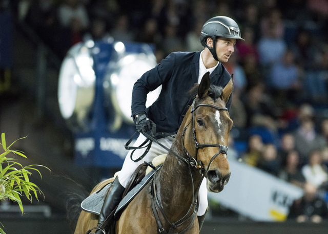 World no. 2 Steve Guerdat from Switzerland and his brilliant mare Hannah will be chasing down those valuable maximum points when the Longines FEI Jumping World Cup™ Western European League gets underway in Oslo, Norway next Sunday. (FEI/Cara Grimshaw)