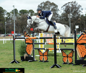 Third out in the Senior Title Jump Off Second Round was Elliot Reeves and Aveden Indigo and they jumped into third place with a time of 78.94 seconds.