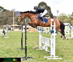Doesn't get much tighter then that! Sophie Smith and Bellhaven Jazz tuck up to take out the win in the second round of the Young Rider Series.