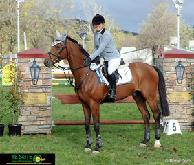 Queensland duo, Erin Buswell and Quero Quero take out the first win of the Young Rider Championship Series in the main arena of the NSW State Show Jumping Titles.