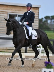 Winner of the Medium 4.3 Santiago ridden by Matthew Dowsley with a score of 73.469%