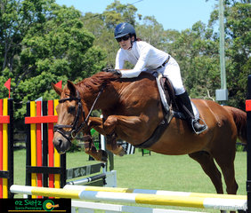 Penny Newbold and her 20 year old Warmblood Mare return to the ring after a serious fall 18 months ago.