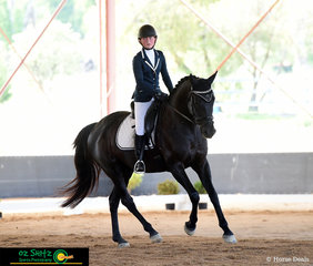 It was a great dressage test for NEGS student, Amy Fisher and she rode Adloo Rosinante at her school annual ODE in Armidale.