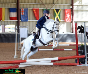 Junior compeitior, Reese Spencer-Ruddy competed in the EvA45 Junior Class on her horse Bamourough Ebb Tide at the NEGS ODE in Armidale, NSW.